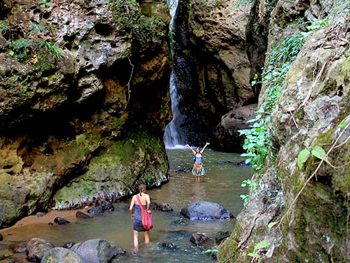 Pam Bok waterfall, Pai.