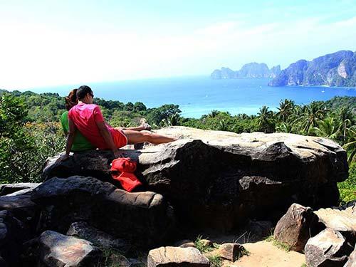 Koh Phi Phi islands.