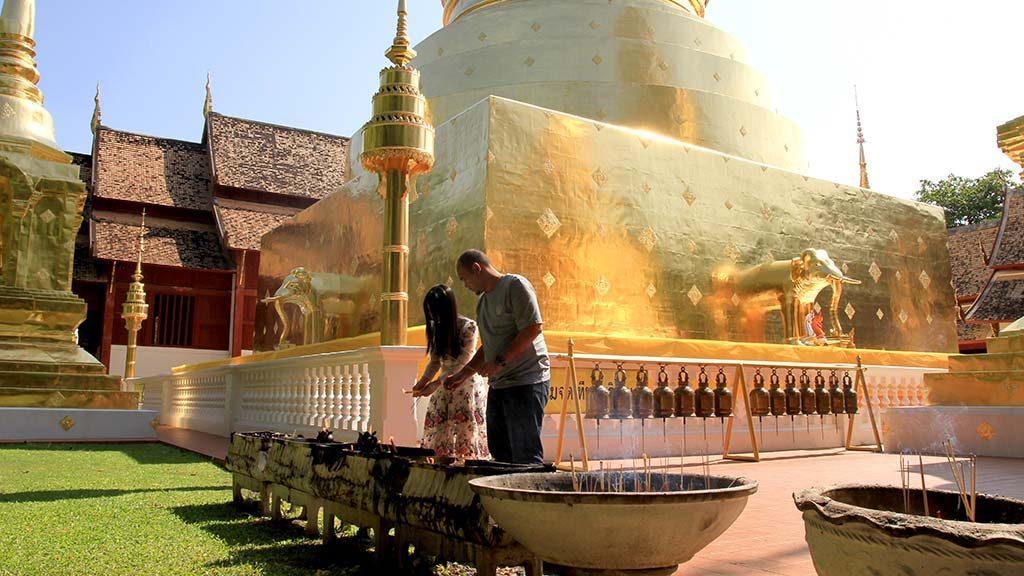 Wat Phra Singh, Chaing Mai.