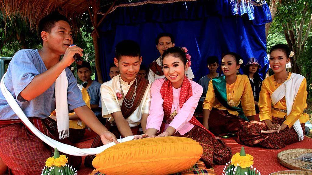 Thai wedding ceremony.