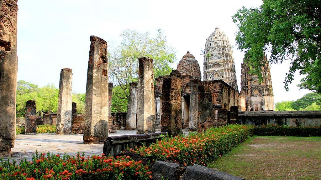Wat Si Sawai Sukhothai.