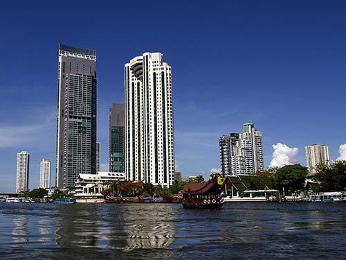 Chao Phraya River in Bangkok.
