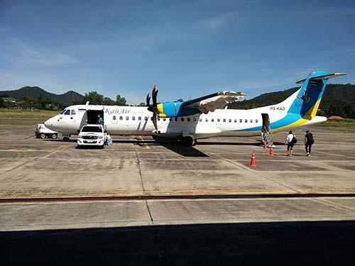 Mae Hong Son airport.