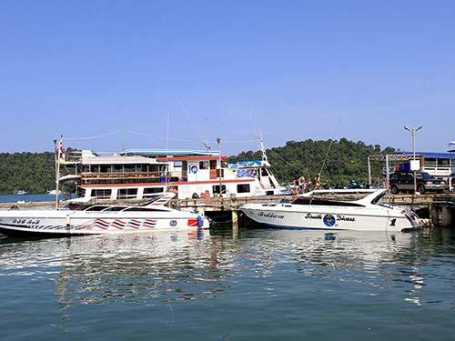 Thap Lamu Harbour, Khao Lak.