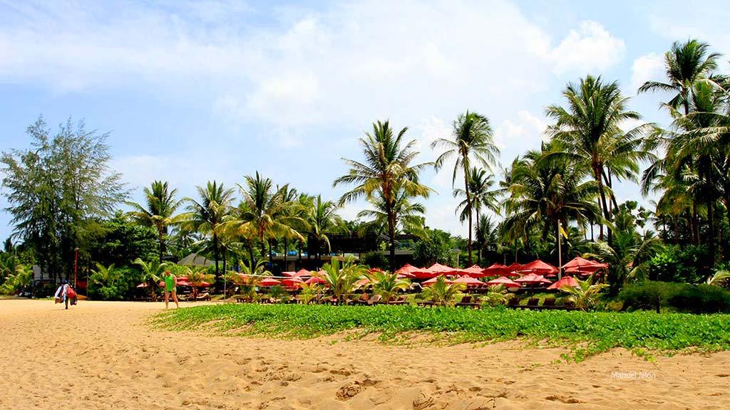 Khao Lak Beach.