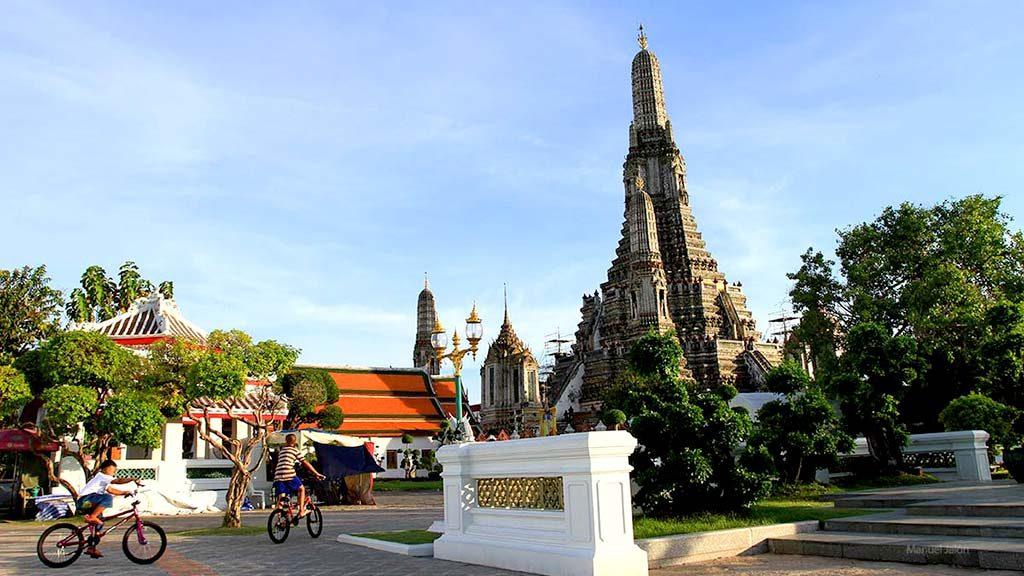 Prangs of the Wat Arun.
