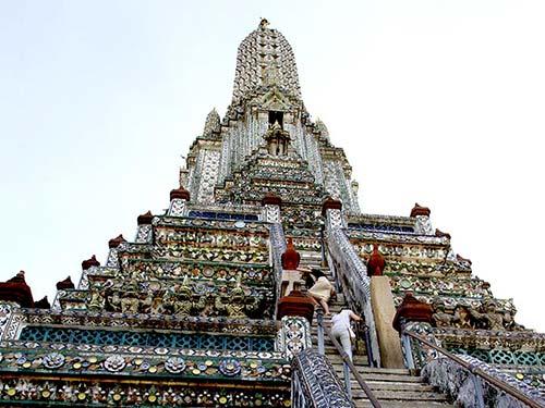 Central prang, Wat Arun.