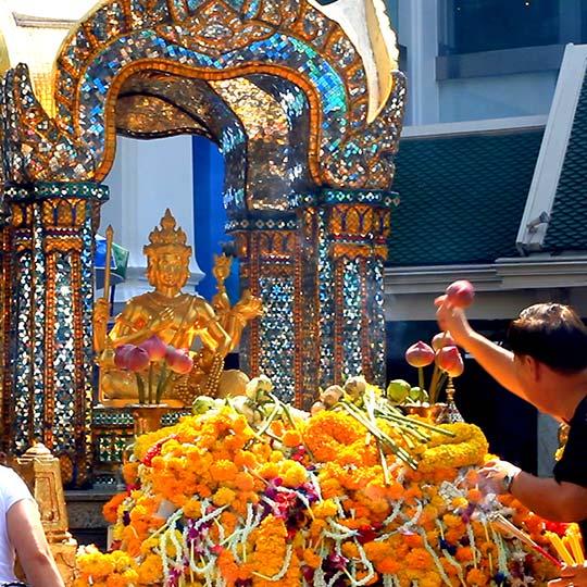 Erawan shrine, Bangkok.