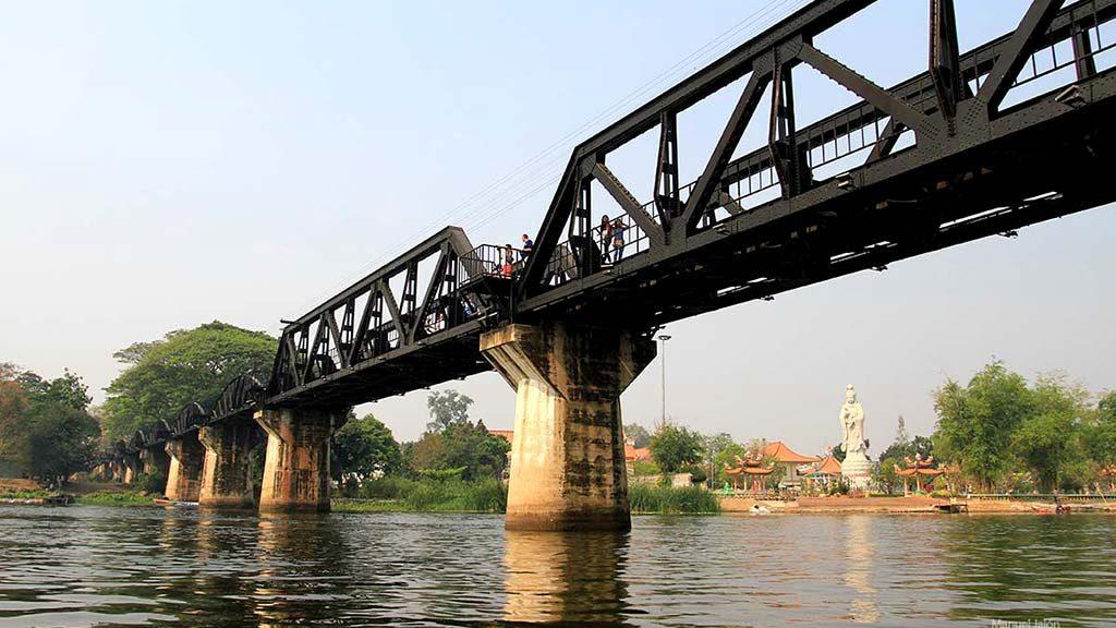 Bridge over the Kwai River.