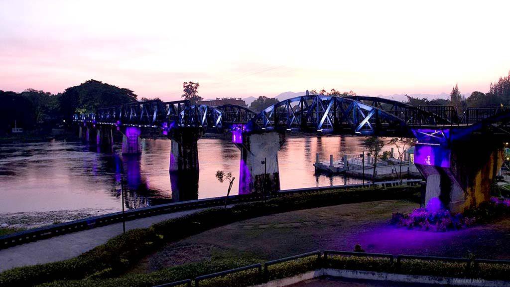 Bridge over the Kwai River, Kanchanaburi