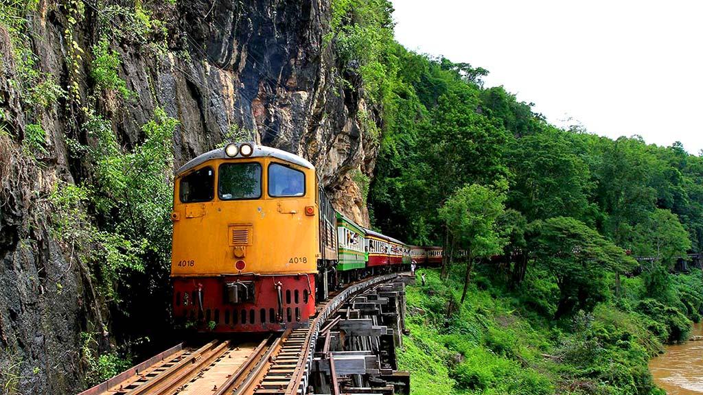 Death Railway, Kanchanaburi.
