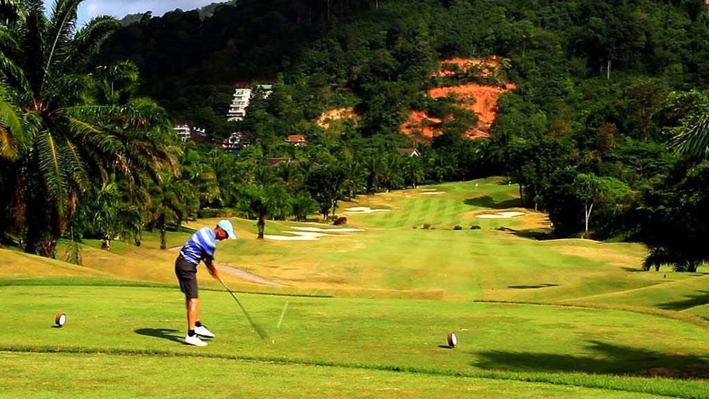Golf course in Phuket.