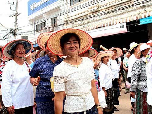 Parade in Dan Sai, Loei.