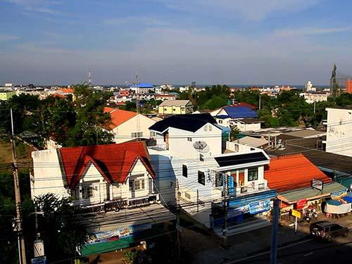 Hua Hin town.