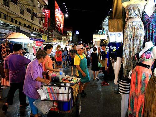 Hua Hin street market.