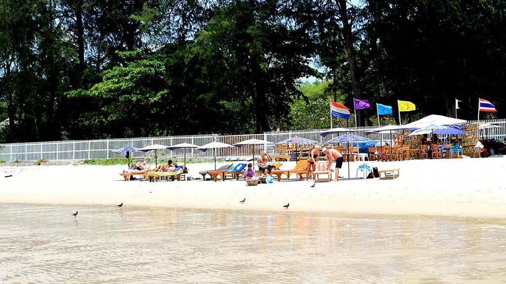 Hua Hin beach.