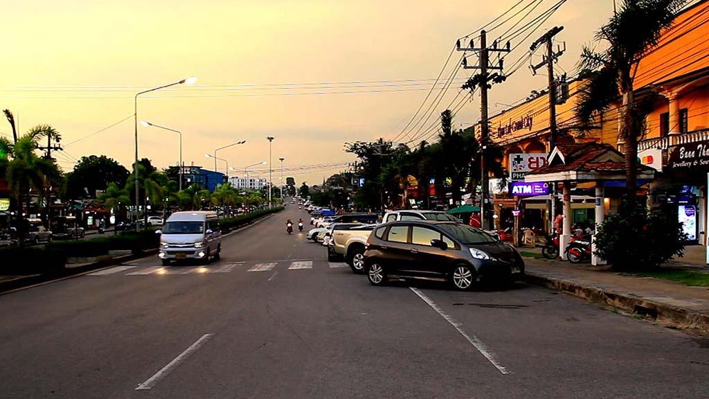 Main road, Khao Lak.
