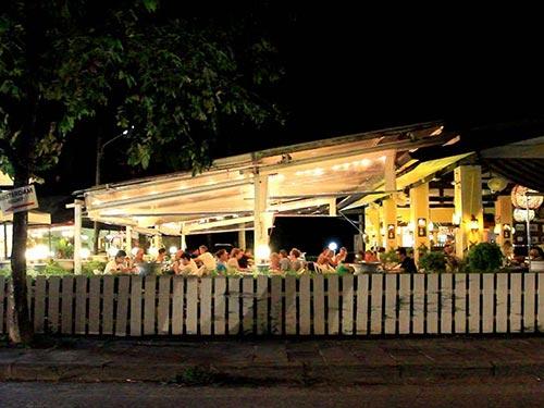 Restaurant in Khao Lak.