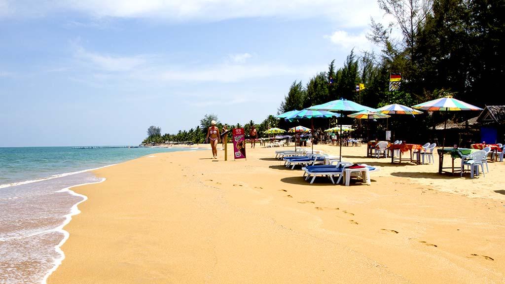 Bang Niang Beach, Khao Lak.