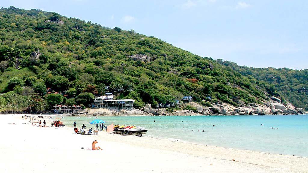 Haad Rin beach, Koh Pha Ngan.