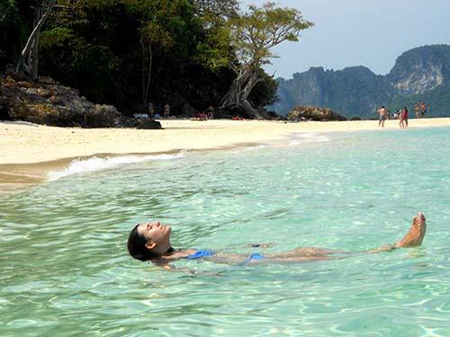Beach near Koh Phi Phi.