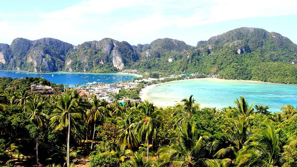 Koh Phi Phi Don island.