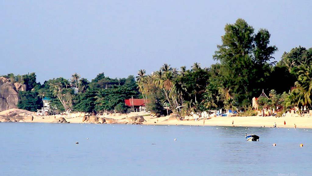 Lamai beach.