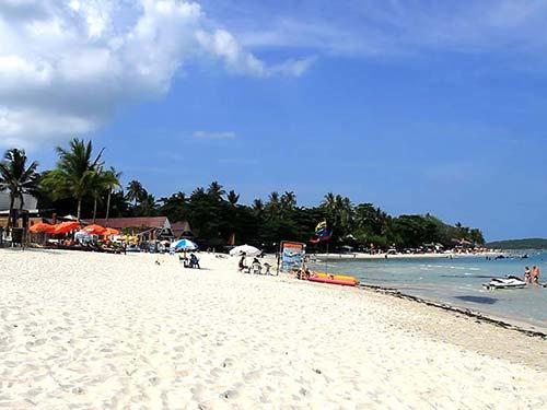 Chaweng beach.