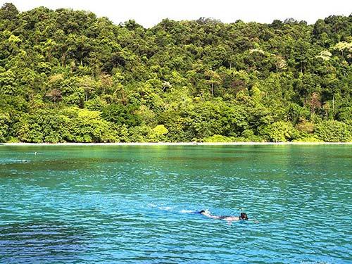Similan island.