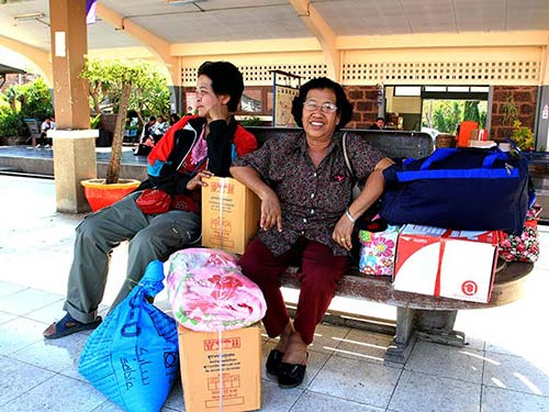 Lopburi railway station.