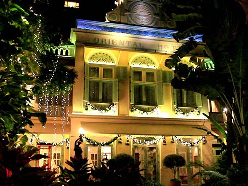 Mandarin Oriental hotel.