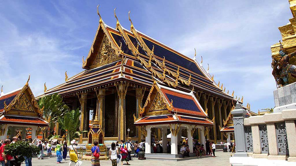 The Royal Monastery of the Emerald Buddha.