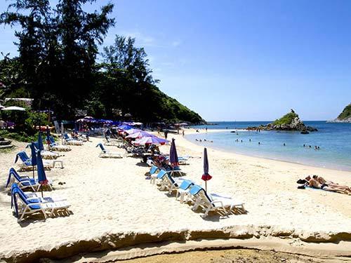 Rawai beach.