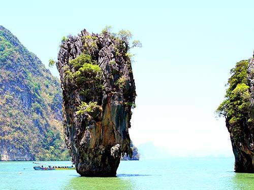 James Bond islet, Phang Nga bay.