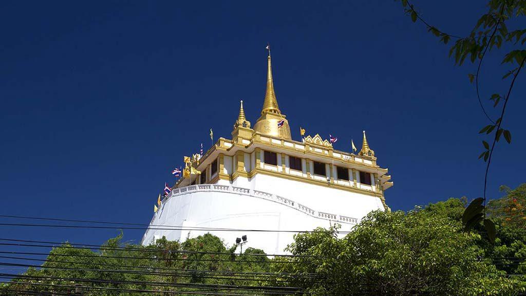 Golden Mountain and Wat Saket.
