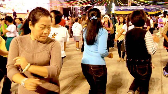 Verbena at the Chiang Rai night market.