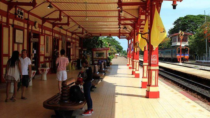 Hua Hin train station.